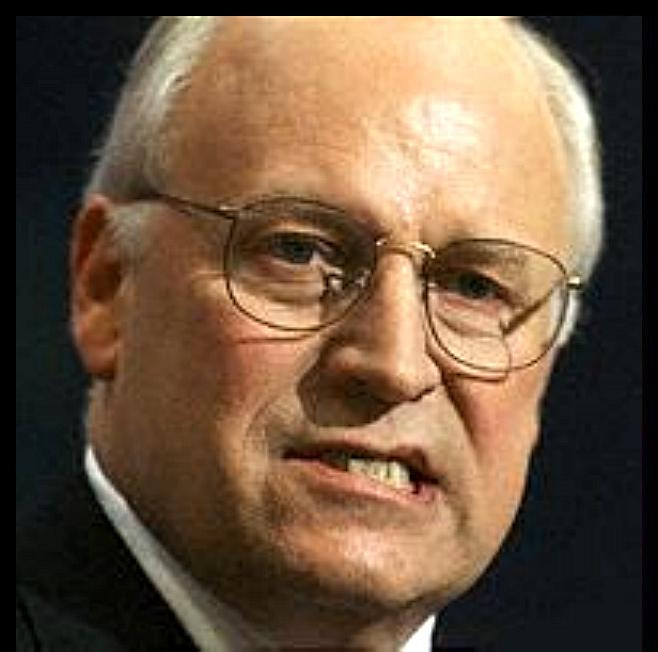 dick cheney wiki. Dick Cheney, has to be the